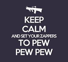 Starkid: Keep calm and set your zappers to pew pew pew (white) Unisex T-Shirt