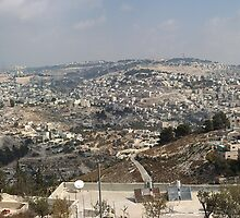 Jerusalem view by milzi