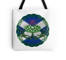 Celtic Knot Thistle Tote Bag