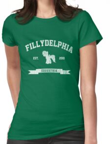MLP FiM: Fillydelphia Womens Fitted T-Shirt