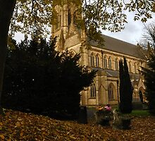 Autumn Church by Andrew Cryer