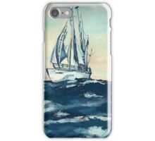 Sailing on High Seas iPhone Case/Skin