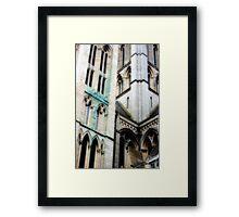 Gothic Cornwall Framed Print