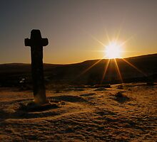 Dartmoor: First Light at Cadover Cross by Rob Parsons