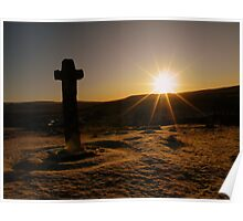 Dartmoor: First Light at Cadover Cross Poster