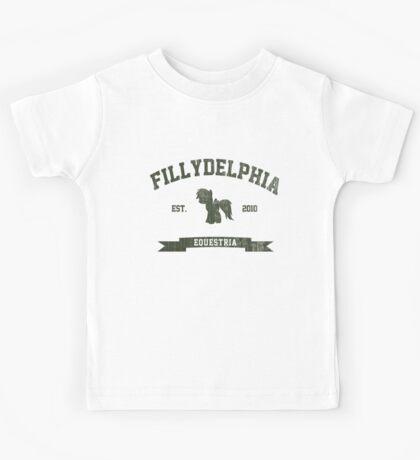 MLP FiM: Fillydelphia Kids Tee