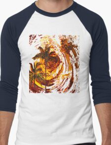 Fire Sunset Ripples in Time T-Shirt