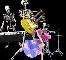 Dem bones by Carol and Mike Werner