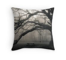 The Troll Tree Throw Pillow