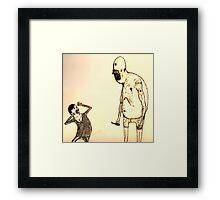 The child slasher Framed Print
