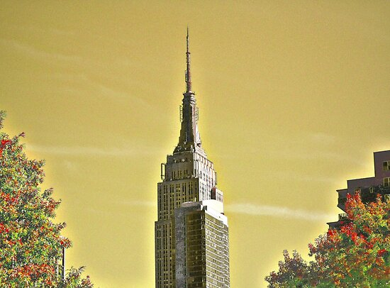 Empire State Building by iwasoutwalking