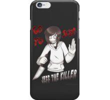 CreepyPasta - Jeff The Killer: Go To Sleep iPhone Case/Skin