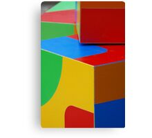 Psssst, Do I Look Like A Rubik's Cube? Canvas Print