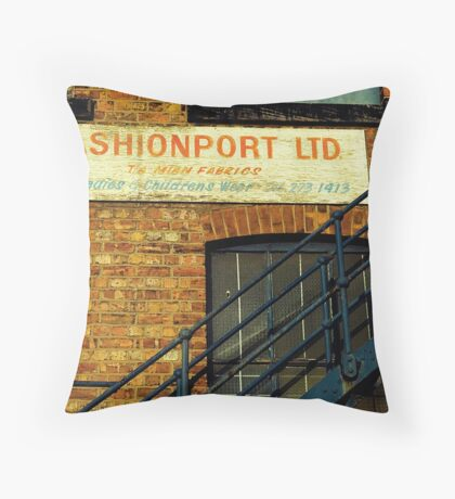 Fashion Is On The Way Up Throw Pillow