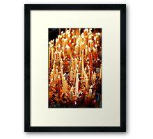 """The Christingle"" Framed Print"