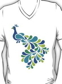 Abstract Peacock T-Shirt