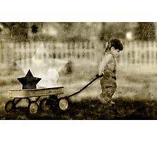 Wagon Full of Dreams Photographic Print