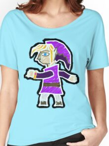 A Link Between Worlds Purple Women's Relaxed Fit T-Shirt