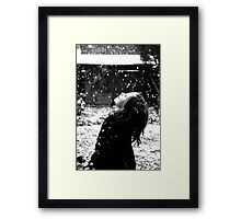 """Winter Joy"" Framed Print"