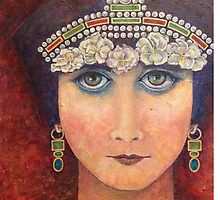 Theda/Theodora by Phyllis Moser by phylmoser