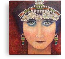 Theda/Theodora by Phyllis Moser Canvas Print