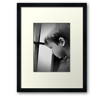 """""""The Child's Appeal"""" Framed Print"""