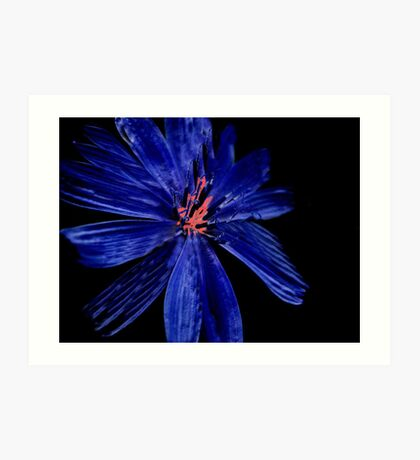 Blue series I ... Art Print