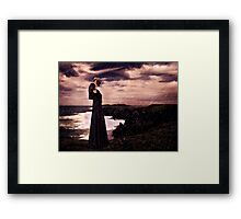 High Fashion Mystical Girl Fine Art Print Framed Print
