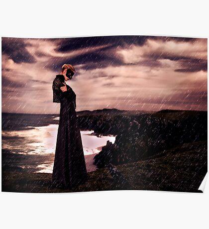 High Fashion Mystical Girl Fine Art Print Poster