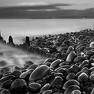 B+W Old Groyne by Robert Kendall