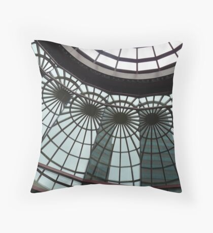 Wonders of the Glass Abstract Throw Pillow