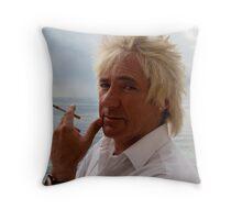 Rud Stewart Throw Pillow