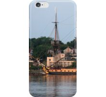 French Frigate Hermione and Schooner Alliance iPhone Case/Skin