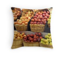Apples for Pickin' Throw Pillow