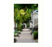 Greening country towns Art Print