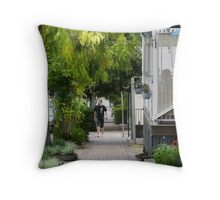 Greening country towns Throw Pillow