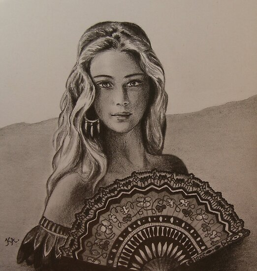 Girl from Santa Fe by Kamila  Krizova/Aitchison