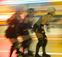 Connecticut Roller Derby Girls by pessenfeld