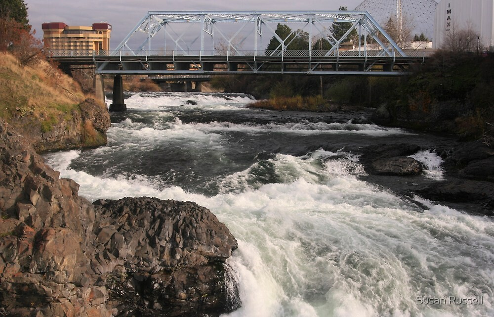 Spokane Falls by Susan Russell