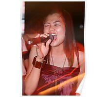 Thai singer Poster