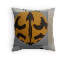 lady bug -coccinella transversalis Throw Pillow
