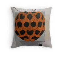 Lady bug-Harmonia conformis Throw Pillow