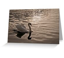 Drifting in Thought Greeting Card