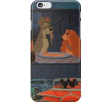 Disney Lady and the Tramp Disney Characters Classics iPhone Case/Skin
