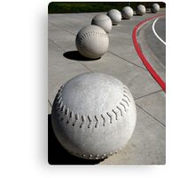 Curve Ball Canvas Print