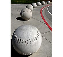 Curve Ball Photographic Print