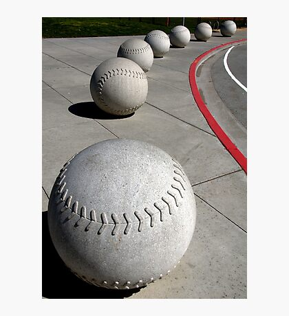 Curve Ball Photographic Print