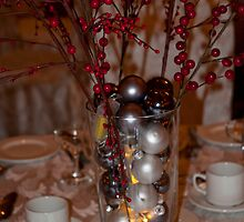 Holiday Centerpiece by Marie Martelli