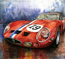 Ferrari sport cars by Yuriy Shevchuk