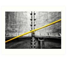 Kennington Tube Station Art Print
